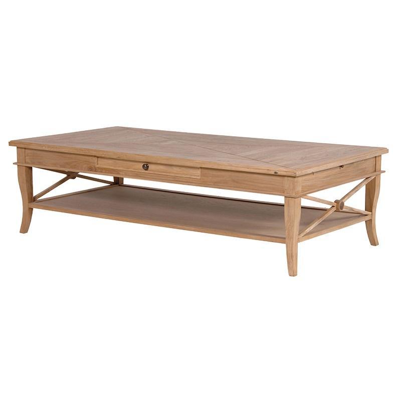Weathered oak coffee table rathwood for Coffee tables oak
