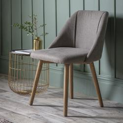 Modern elliot dining chair slate grey