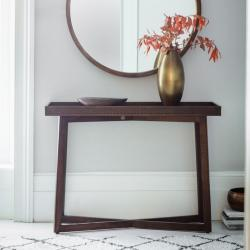 Boho retreat console table