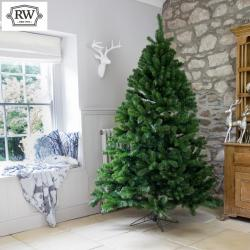 6ft premium evergreen full artificial christmas tree