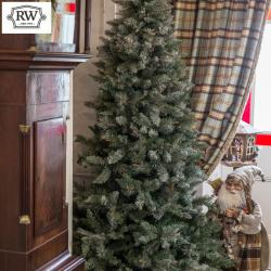 7ft premium frosted alaskian artificial christmas tree