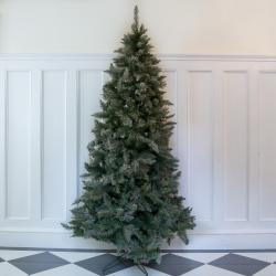 8ft premium frosted alaskian artificial christmas tree
