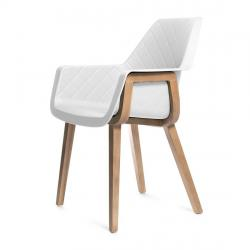 Amsterdam city dining armchair pure white
