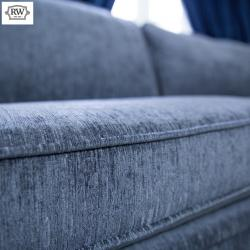 Warehouse clearance balmoral 3 seater grey fabric