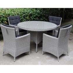 Berkeley 4 seater round set
