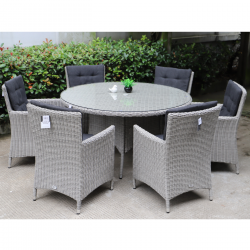 Berkeley 6 seater round set