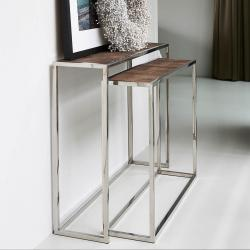 Bleeckerstreet side table set of 2
