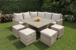 Bordeaux extra large casual dining set