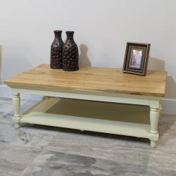 Warehouse clearance bramley cream painted coffee table