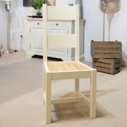 Bramley cream painted dining chair