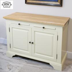Warehouse clearance bramley cream painted sideboard
