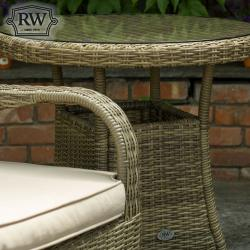 Chester 2 seater rattan set