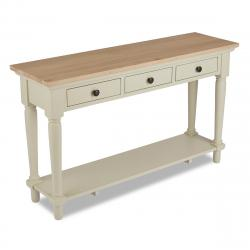 Warehouse clearance clifton grey painted console table