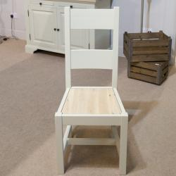 Clifton grey painted dining chair