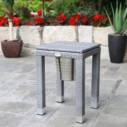 Cuba ice bucket side table