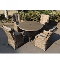 Hampton 4 seater set