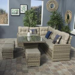 Hampton casual sofa dining set