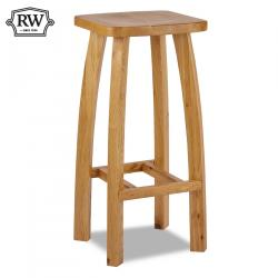 Kingston oak bar stool