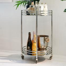 L hotel bar trolley