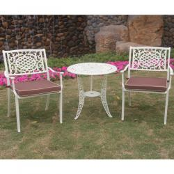Lyon 2 seater cream set