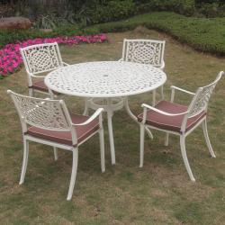 Lyon 4 seater cream set