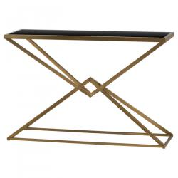 Orient antique bronze contemporary console