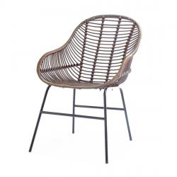 Outdoor carolina port dining armchair