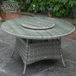 Oxford 6 seater round set
