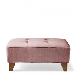 Radziwill hocker mouline linen paris pink