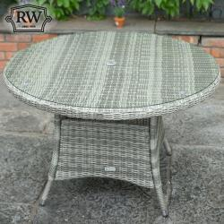 Round dining table 120cm