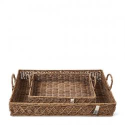 Rr diamond weave serving tray
