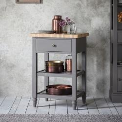 Rustic grey butchers block