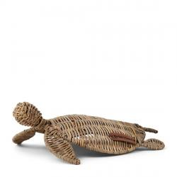 Rustic rattan happy turtle m