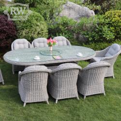 Sepino 8 seater oval set