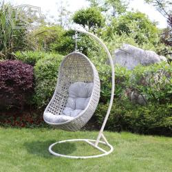 Single pod hanging chair