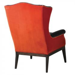 Urban tangerine and grey chair