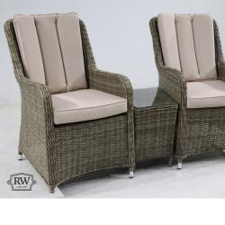 Verona 2 seater set natural