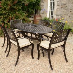 099953ffd4e Garden Furniture Ireland - Rathwood Cast Aluminium   rattan Furniture