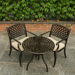 Warehouse clearance devon garden bistro dark