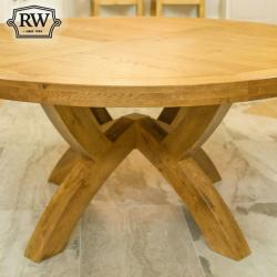 Fitzwilliam oak 1 7m round table