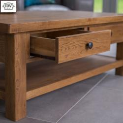 Warehouse clearance fitzwilliam coffee table with 2 drawers