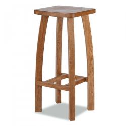 Fitzwilliam oak bar stool
