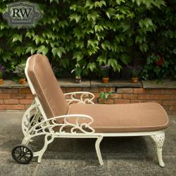Lyon cream deck chair out of stock pre order now