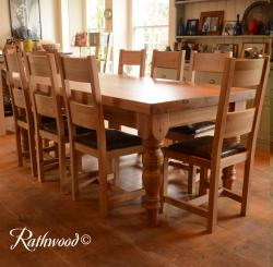 Kingston farmhouse 7ft table