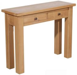 Plum compact console table